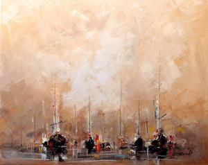 obrazy olejne - marek langowski