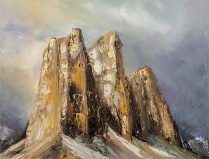 obrazy olejne na sprzedaż - Dolomity