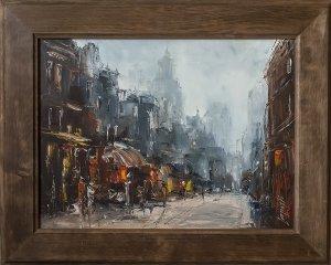 obrazy olejne na sprzedaż - W cieniu uliczki