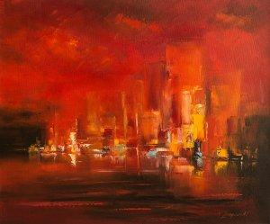 obrazy olejne na sprzedaż - Manhattan 2