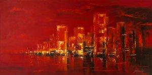 obrazy olejne na sprzedaż - City