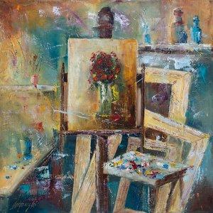 obrazy olejne na sprzedaż - Pracownia artysty
