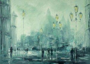 obrazy olejne na sprzedaż - Miasto latarni