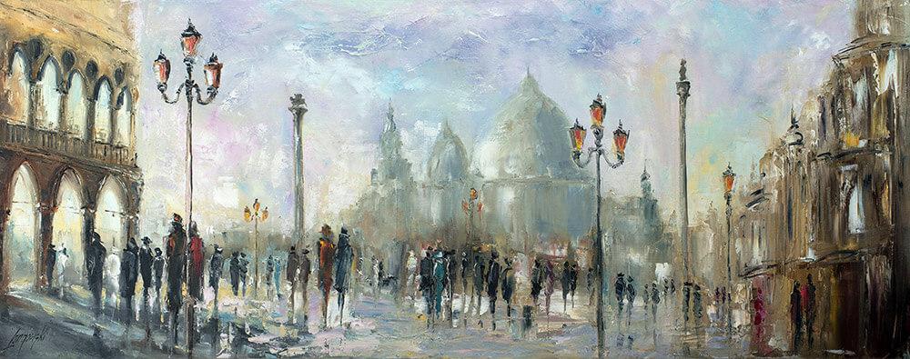 Spacer w Wenecji