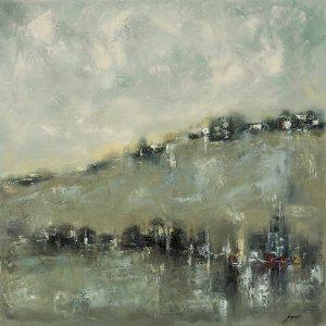 obrazy olejne na sprzedaż - Miasto na wzgórzu