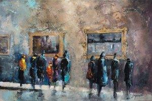 obrazy olejne na sprzedaż - Zimowa galeria