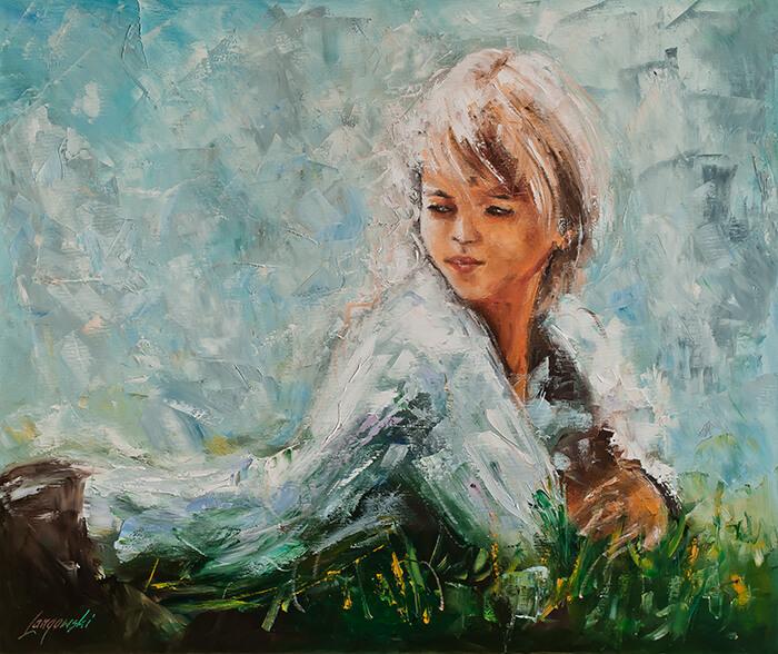 Wątek kobiecy na obrazach olejnych na płótnie: na czym polega jego fenomen?