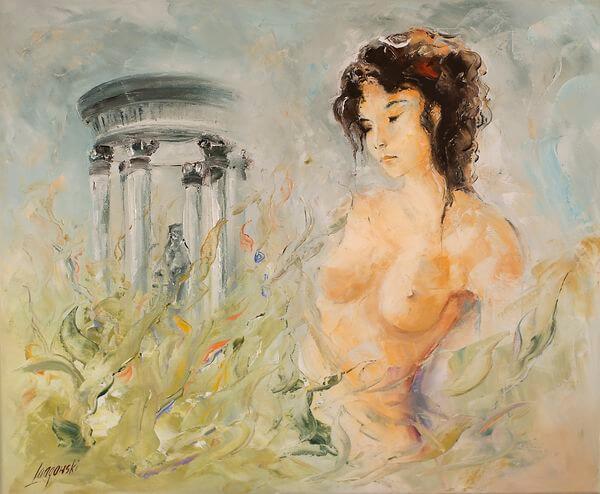 Miłość na obrazach olejnych — romantyczna historia malarstwa