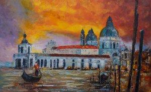 obrazy olejne na sprzedaż - Gondolier