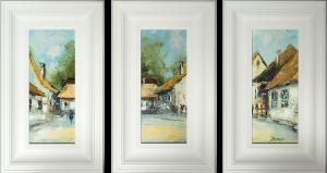 obrazy olejne na sprzedaż - Kazimierz Tryptyk 03