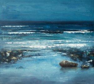 obrazy olejne na sprzedaż - Błękit oceanu
