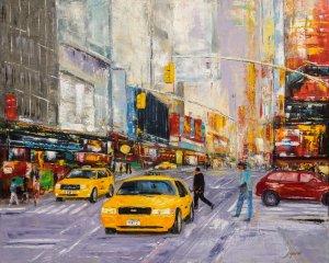 obrazy olejne na sprzedaż - Taxi