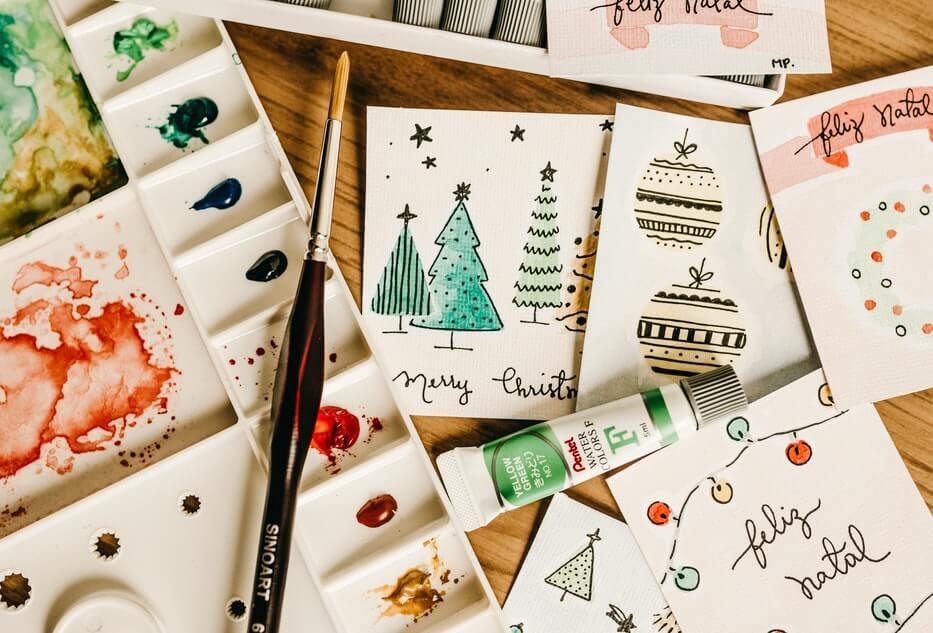 wigilia Bożego Narodzenia na obrazach